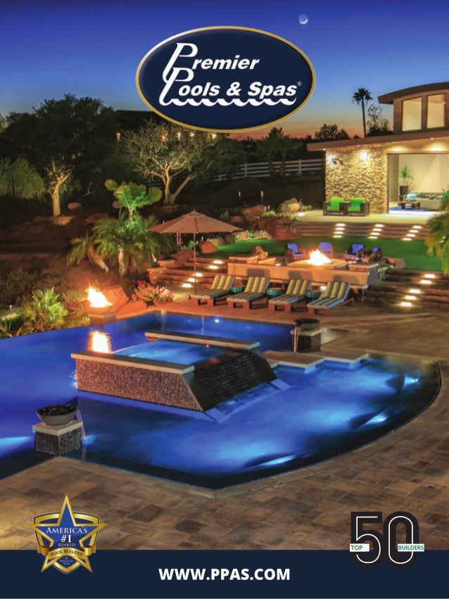 Premier pools spas 2016 brochure for Premier pools