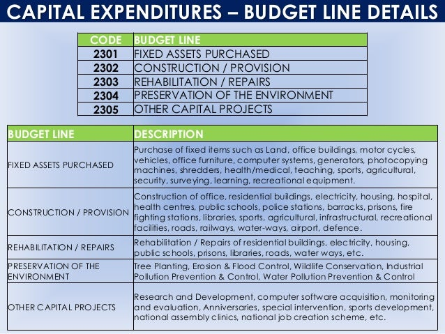 budget projects