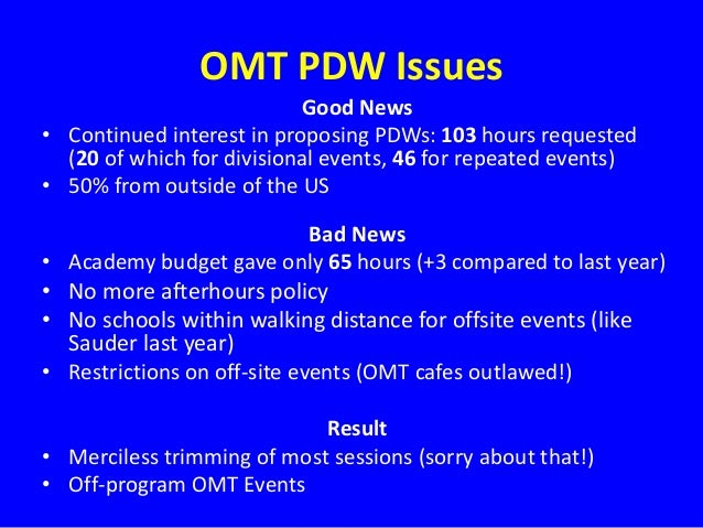 omt dissertation proposal workshop It was a great science howard universitys center on race and wealth (crw) and omt 2016 dissertation proposal workshop the omt dissertation proposal workshop online.
