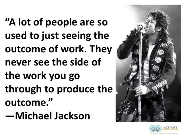 """""""A lot of people are so used to just seeing the outcome of work. They never see the side of the work you go through to pro..."""