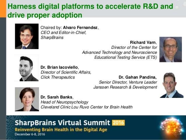 Harness digital platforms to accelerate R&D and drive proper adoption Slide 2