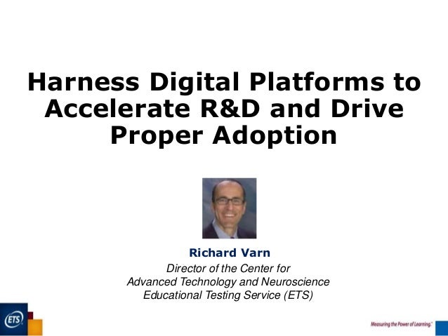 Harness digital platforms to accelerate R&D and drive proper adoption Slide 3