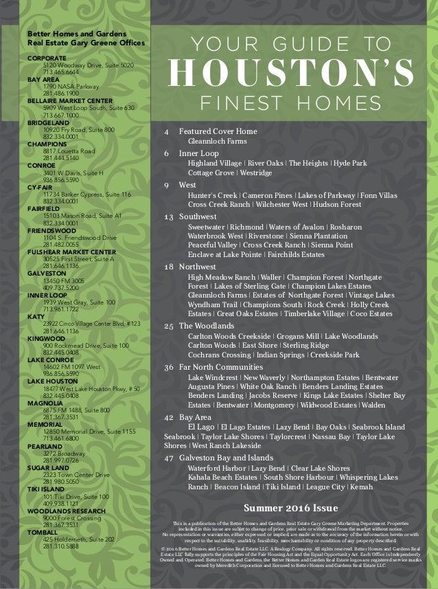 2016 Portfolio Of Luxury Homes - Houston and The Woodlands - BHGRE Gary Greene Slide 3