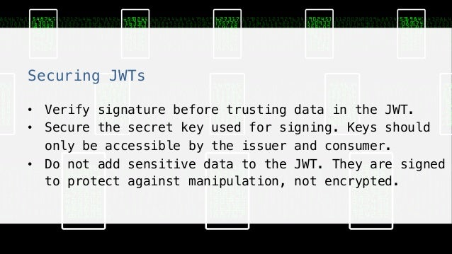 Jwt Verify Signature