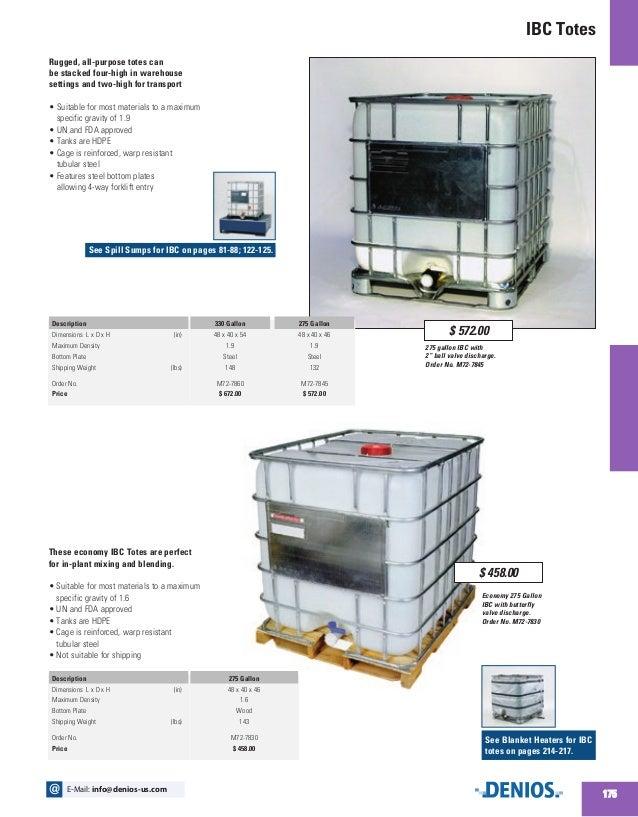 Bulk Containers, Drum, IBCs - DENIOS US