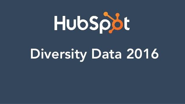 Diversity Data 2016