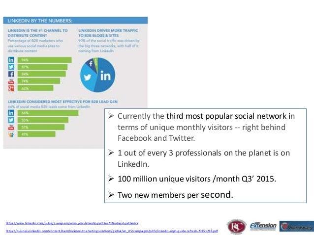 E-Commerce Workshops LinkedIN 101 Slide 2