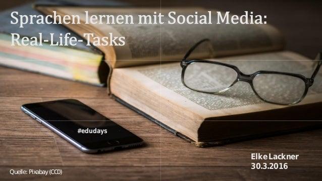 #edudays Quelle: Pixabay (CC0) Elke Lackner 30.3.2016