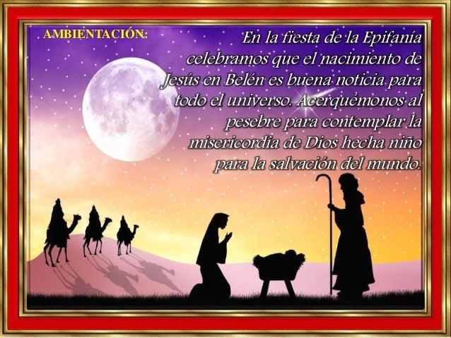 En la fiesta de la Epifanía celebramos que el nacimiento de Jesús en Belén es buena noticia para todo el universo. Acerqué...