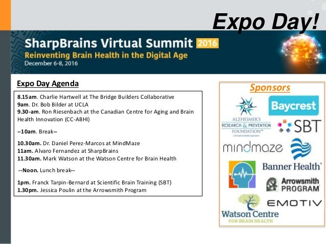 Expo Day: Bridge Builders Collaborative, American Academy of Clinical Neuropsychology, and Canadian Centre for Aging and Brain Health Innovation Slide 2