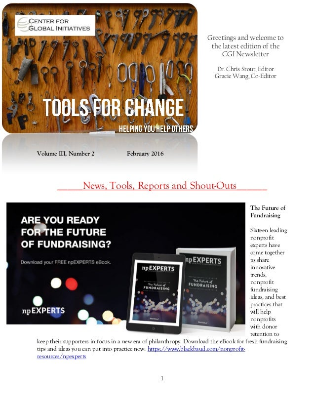 2016 february tools for change cgi newsletter 1 greetings and welcome to the latest edition of the cgi newsletter dr chris stout fandeluxe Gallery