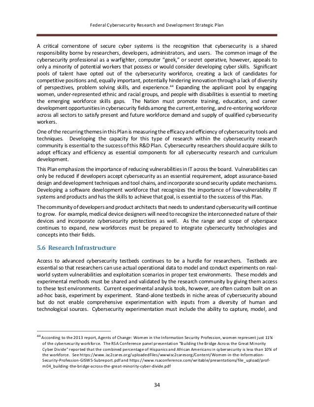 Dr Dev Kambhampati | USA Cybersecurity R&D Strategic Plan