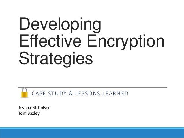 unit 7 design an encryption strategy I'm trying to design the best strategy to achieve the following goals i'm running a node/express stack, so i believe my 'best' option to achieve the encryption/decription goal is to use a module like node-cryptojs-aes or crypto-wrapper to handle all encryption and decryption in the application layer.