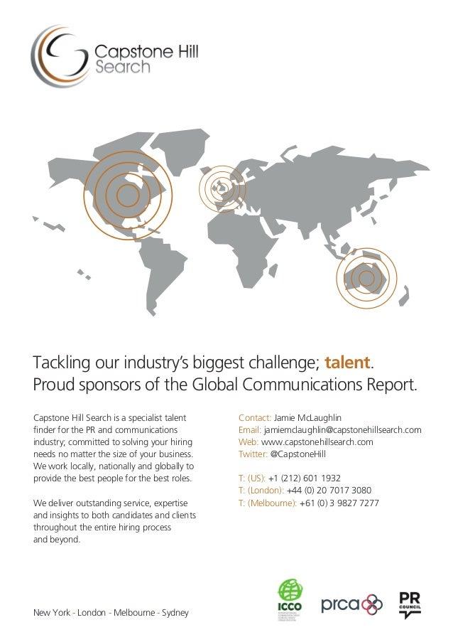 2016 Global Communications Report