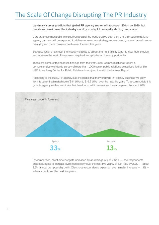 GlobalCommunicationsReport–Research#gcr16 9 Growth  Challenges Content 81% Social media 75% Brand reputation 70% Indus...