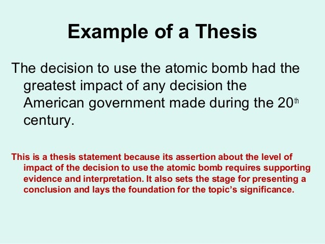 history thesis Here you can find out all information regarding history thesis writing on this page free sample of history thesis writing id available.