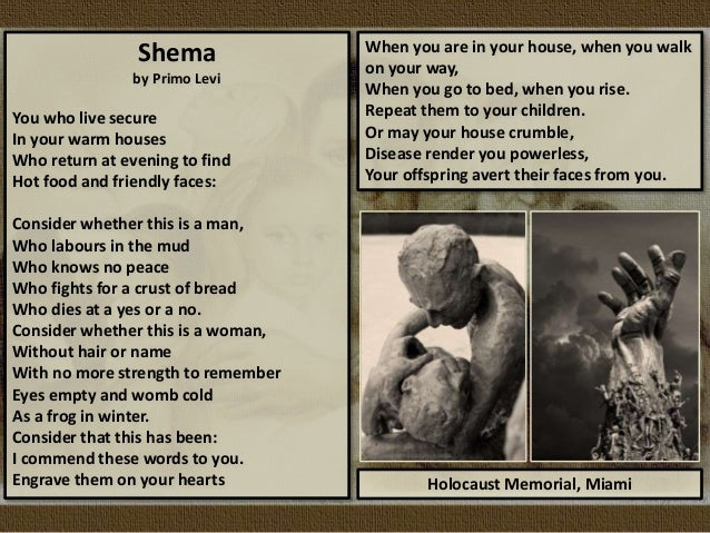 Holocaust Poetry: PowerPoint