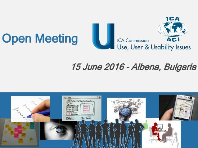 Open Meeting 15 June 2016 - Albena, Bulgaria