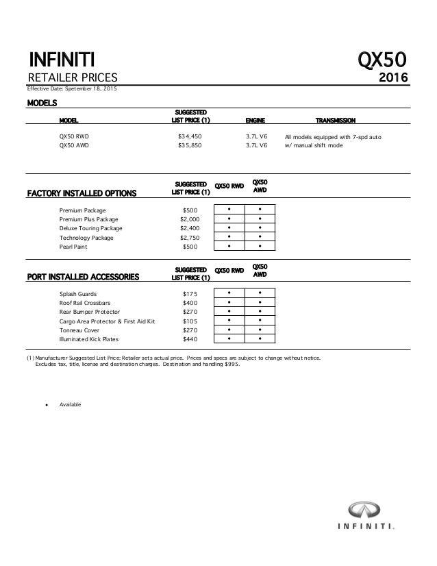 uae specs prices for carprices abu infinity in starting price front infiniti dubai reviews