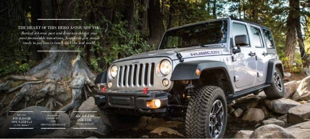 2016 Jeep Wrangler Vehicle Brochure