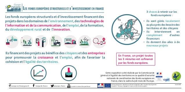 Ce document est co-financé par l'Union européenne, dans le cadre du programme Europ'Act. L'Europe s'engage en France avec ...