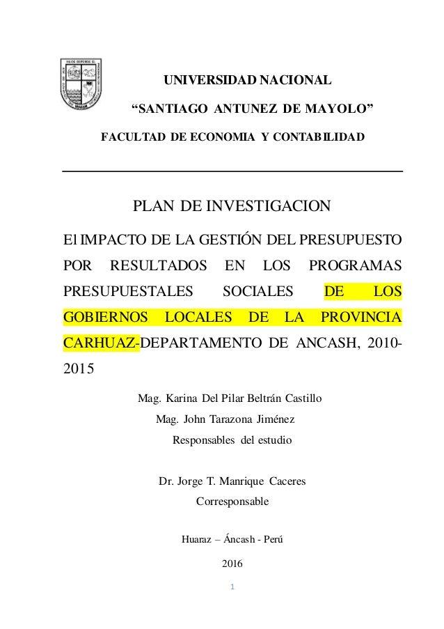 El impacto de la gesti n del presupuesto por resultados en for Oficina xestion de multas concello de santiago