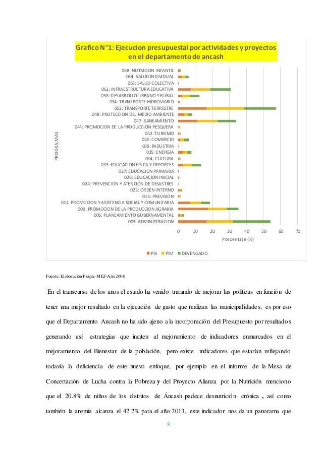 8 Fuente: ElaboraciónPropia-MEF-Año2008 En el transcurso de los años el estado ha venido tratando de mejorar las políticas...
