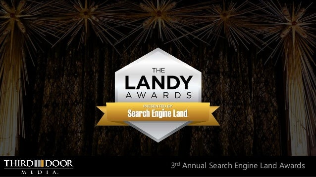 3rd Annual Search Engine Land Awards
