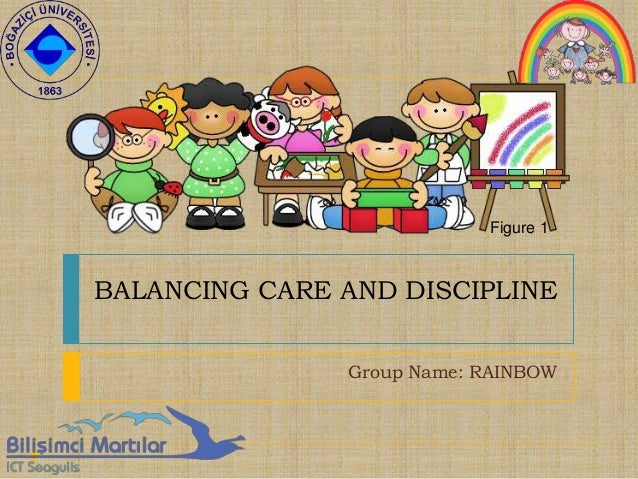 BALANCING CARE AND DISCIPLINE Group Name: RAINBOW Figure 1