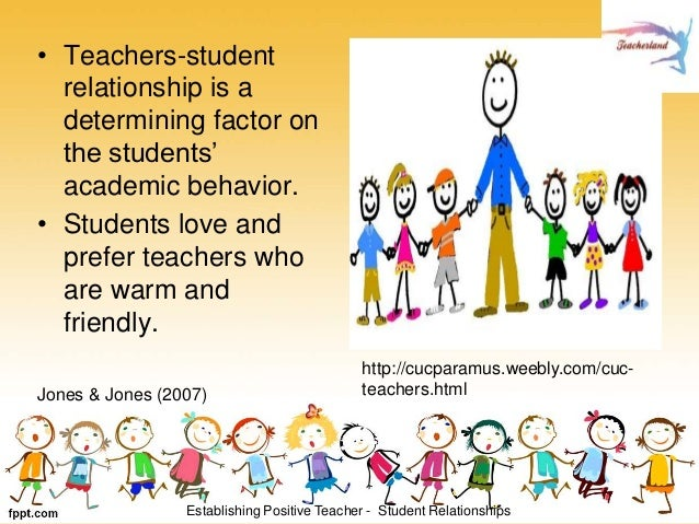 establishing a relationship with students