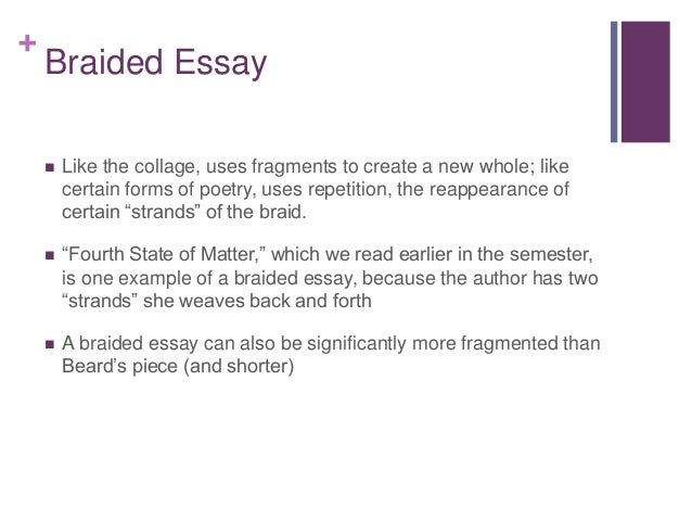 College essay ideas