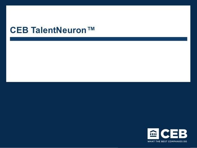 CEB TalentNeuron™