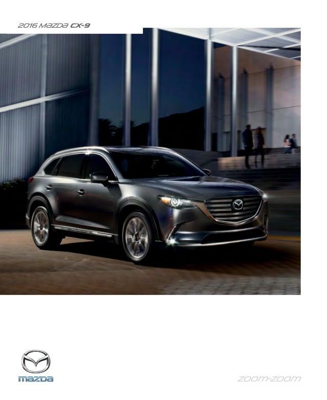 Mazda Dealers Cincinnati >> 2016 Mazda Cx 9 Brochure Cincinnati Mazda Dealer