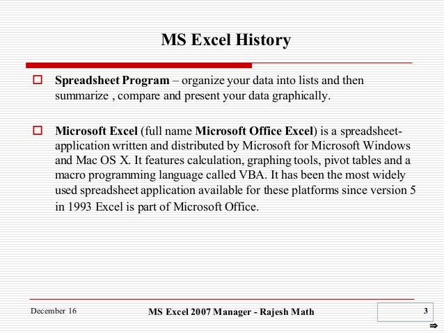 data analytics using ms excel rh slideshare net