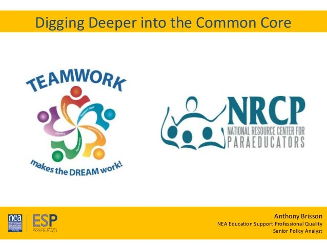 Te a m W o r k M a k e s t h e D R E A M W o r k ! 33rd Annual NRCP Conference April 1-3, 2016 Oak Brook Digging Deeper in...