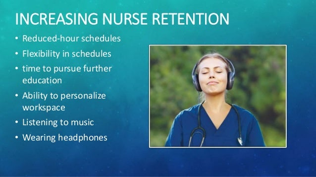 nurse retention According to a study featured in the current issue of policy, politics & nursing practice, reveals that an estimated 175% of newly-licensed rns leave their first nursing job within the first year, and one in three.