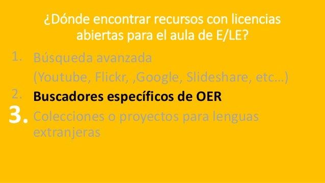 Ejemplo de repositorio intitucional hispanohablante URL:https://procomun.educalab.es/es/ Útil como fuente de material para...