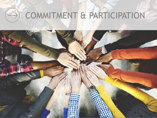 COMMITMENT & PARTICIPATION
