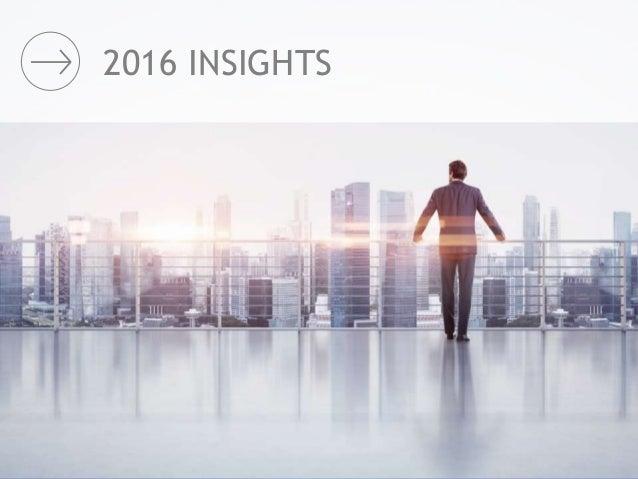 2016 INSIGHTS