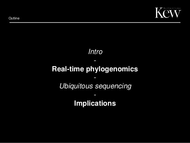Using field-based DNA sequencing to accelerate phylogenomics Slide 2