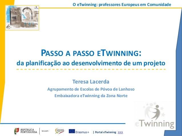 | Portal eTwinning >>> O eTwinning: professores Europeus em Comunidade PASSO A PASSO ETWINNING: da planificação ao desenvo...