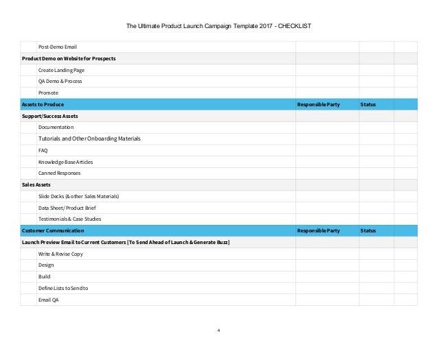 it checklist template