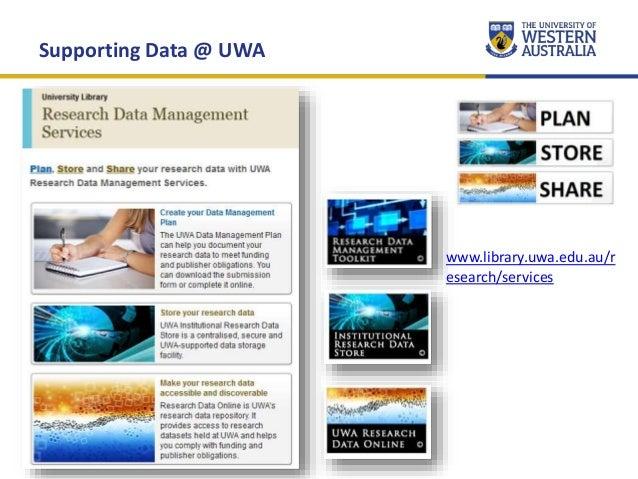 UWA Research Week 2016 Slide 2
