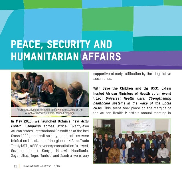 Overview 2015 - Oxfam AU Office