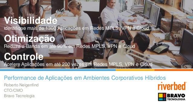 Visibilidade Identifique mais de 1300 Aplicações em Redes MPLS, VPN e Cloud Otimização Reduza a Banda em até 90% em Redes ...