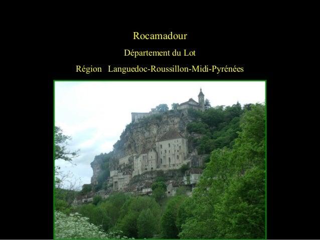 Rocamadour Département du Lot Région Languedoc-Roussillon-Midi-Pyrénées
