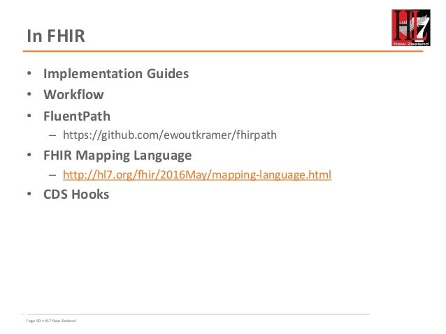 HL7 New Zealand: FHIR for developers