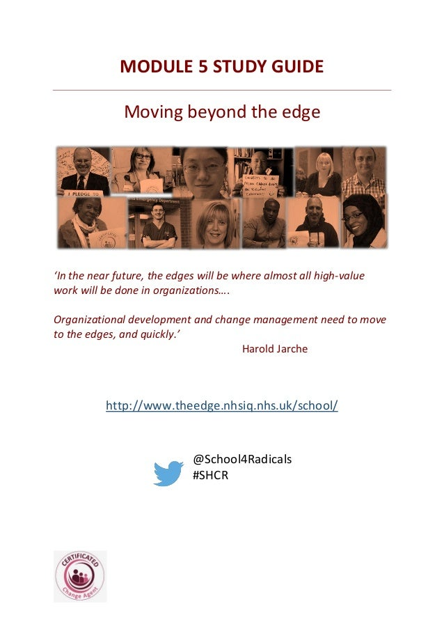 MODULE 5 STUDY GUIDE Moving beyond the edge 'In the near future, the edges will be where almost all high-value work will b...