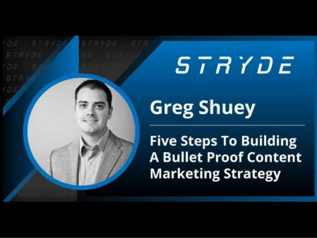 "• I'm Greg • Also know as ""Shuey"" • Co-founded Stryde • Husband of one, father of three… and a dog • Master fort builder"