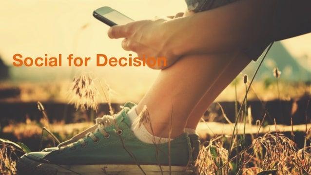 #socadm15 Social for Decision